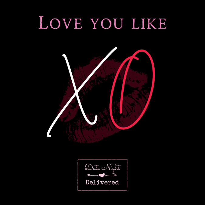 I love you like XO Valentines Day Sign | Highway Traffic